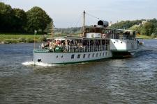 Lodí do Míšně - 5.10.2013
