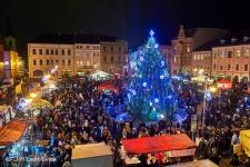 Vánoční strom - Rumburk - 1.12.2018