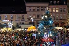 Rozsvícení vánočního stromu - Rumburk - 30.11.2019