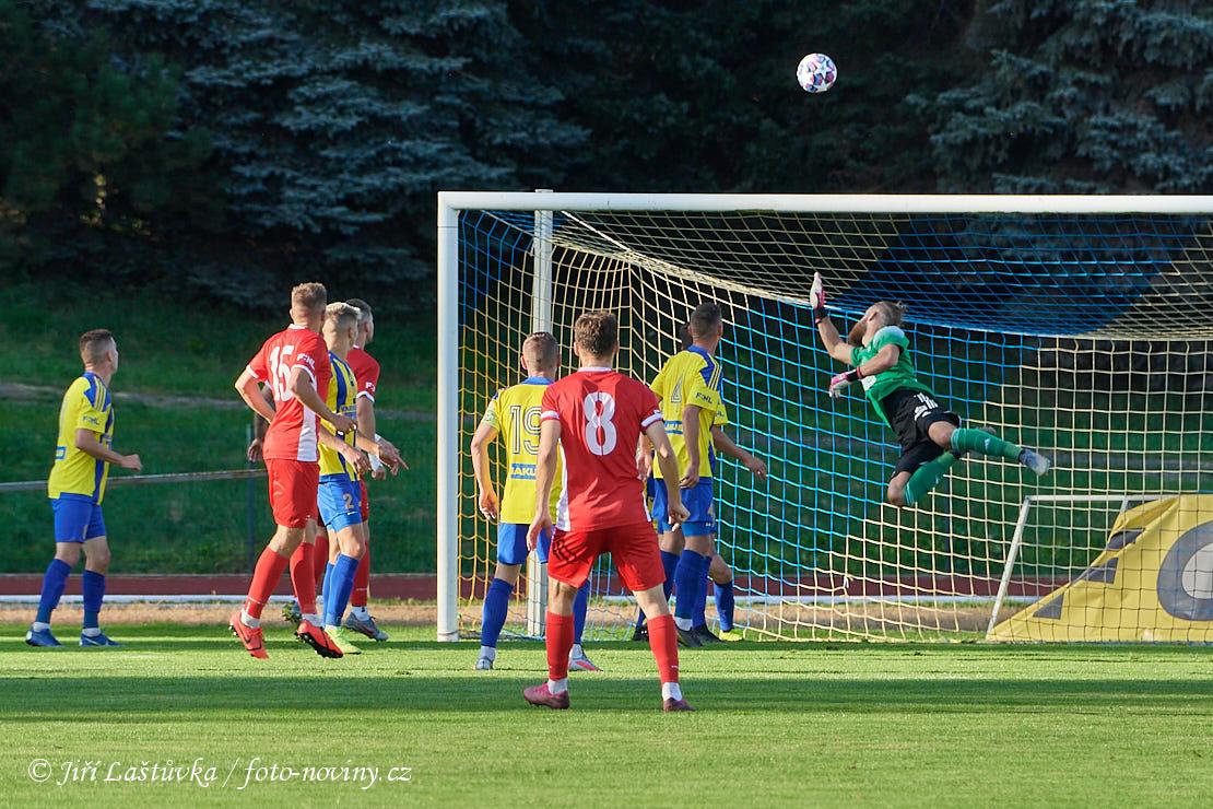 FK Varnsdorf - FK Blansko 1:1 (0:1) - 20.9.2020