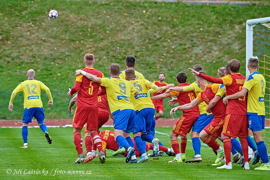 FK Varnsdorf - FK Dukla Praha 2:2 (0:2) - 27.9.2020