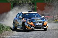 55. Rallye Šumava Klatovy Peugeot cup  8.- 9.5.2021