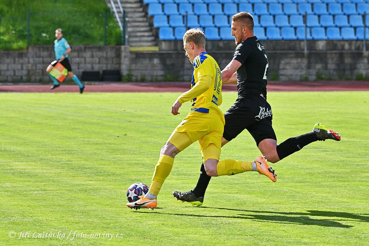 FK Varnsdorf - FC Hradec Králové 1:1 (1:1) - 16.5.2021