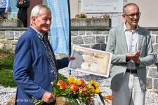 Jaroslav Falta - čestné občanství - DK Rumburk - 21.8.2021